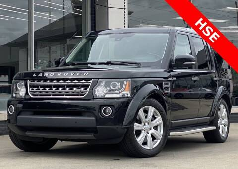 2016 Land Rover LR4 for sale at Carmel Motors in Indianapolis IN