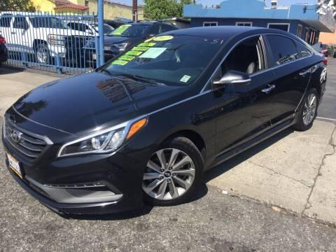 2017 Hyundai Sonata for sale at 2955 FIRESTONE BLVD in South Gate CA