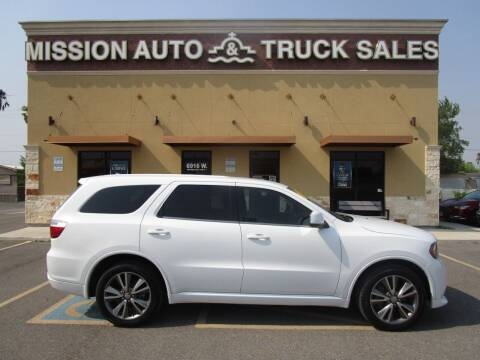 2013 Dodge Durango for sale at Mission Auto & Truck Sales, Inc. in Mission TX
