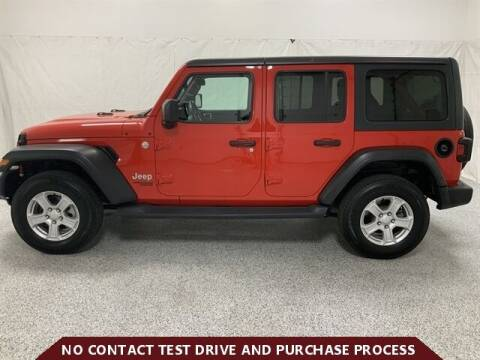2019 Jeep Wrangler Unlimited for sale at Brothers Auto Sales in Sioux Falls SD