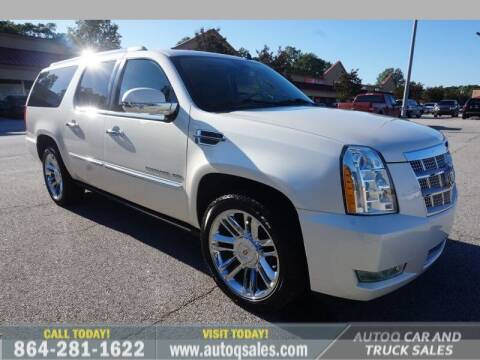 2014 Cadillac Escalade ESV for sale at Auto Q Car and Truck Sales in Mauldin SC