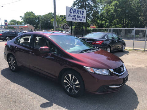 2015 Honda Civic for sale at Chris Auto Sales in Springfield MA