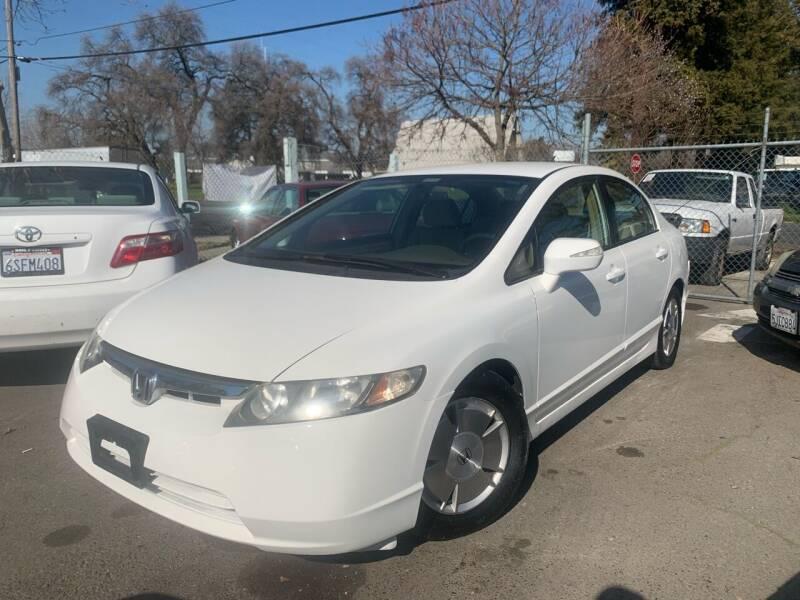 2007 Honda Civic for sale at River City Auto Sales Inc in West Sacramento CA