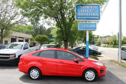 2013 Ford Fiesta for sale at North Hills Motors in Raleigh NC