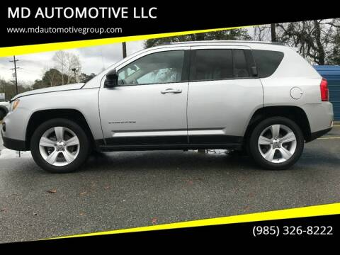 2012 Jeep Compass for sale at MD AUTOMOTIVE LLC in Slidell LA