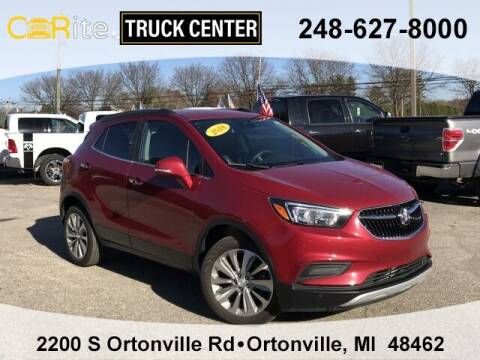 2018 Buick Encore for sale at Carite Truck Center in Ortonville MI