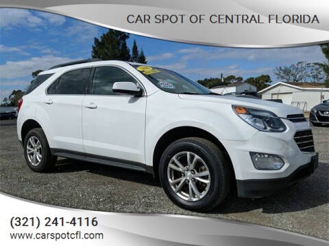 2016 Chevrolet Equinox for sale at Car Spot Of Central Florida in Melbourne FL