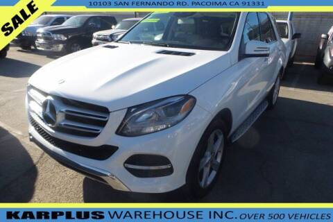 2016 Mercedes-Benz GLE for sale at Karplus Warehouse in Pacoima CA