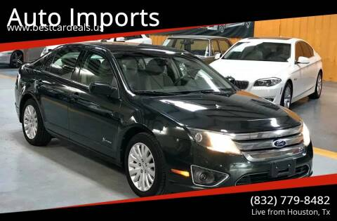 2010 Ford Fusion Hybrid for sale at Auto Imports in Houston TX