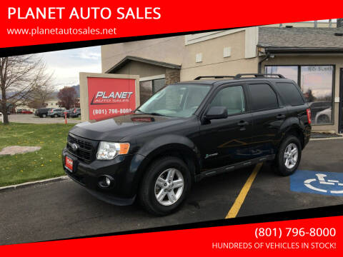 2011 Ford Escape Hybrid for sale at PLANET AUTO SALES in Lindon UT