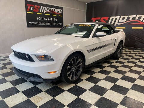 2012 Ford Mustang for sale at T & S Motors in Ardmore TN