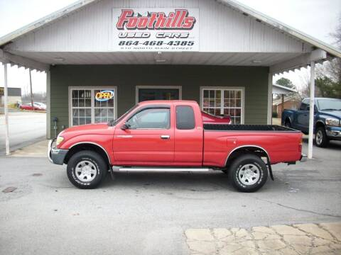 1999 Toyota Tacoma for sale at Foothills Used Cars LLC in Campobello SC