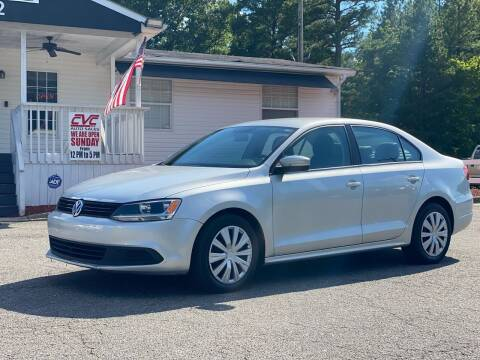 2011 Volkswagen Jetta for sale at CVC AUTO SALES in Durham NC