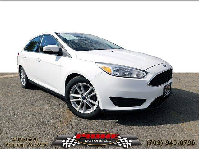 2017 Ford Focus for sale at PRIME MOTORS LLC in Arlington VA