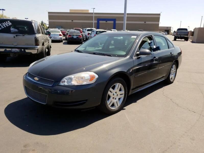 2012 Chevrolet Impala for sale at MCHENRY AUTO SALES in Modesto CA