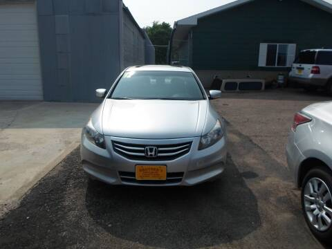 2012 Honda Accord for sale at Brothers Used Cars Inc in Sioux City IA