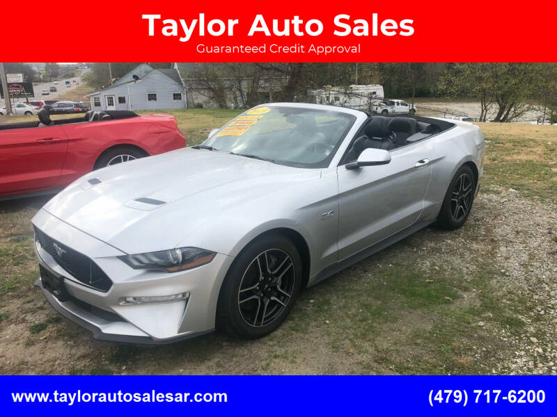 2019 Ford Mustang for sale at Taylor Auto Sales in Springdale AR