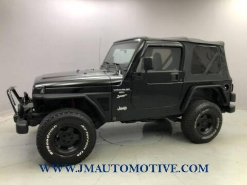 1999 Jeep Wrangler for sale at J & M Automotive in Naugatuck CT