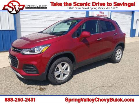 2018 Chevrolet Trax for sale at Spring Valley Chevrolet Buick in Spring Valley MN