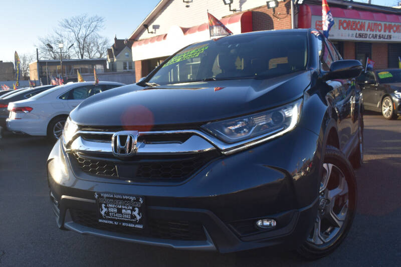 2017 Honda CR-V for sale at Foreign Auto Imports in Irvington NJ