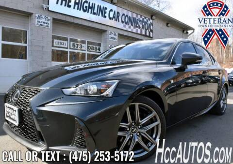 2017 Lexus IS 350 for sale at The Highline Car Connection in Waterbury CT