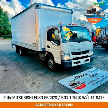 2014 Mitsubishi Fuso FEC92S for sale at Orange Truck Sales in Orlando FL
