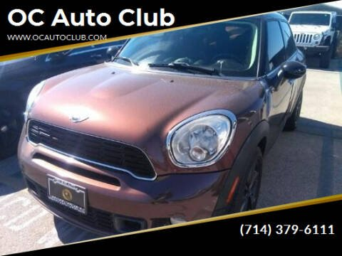 2013 MINI Countryman for sale at OC Auto Club in Midway City CA