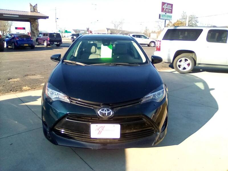 2019 Toyota Corolla for sale at Four Guys Auto in Cedar Rapids IA