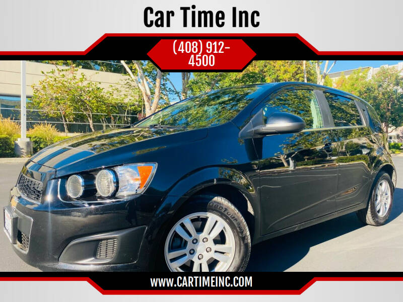 2016 Chevrolet Sonic for sale at Car Time Inc in San Jose CA
