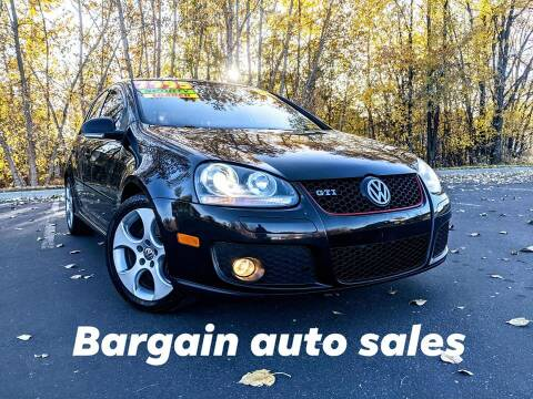 2008 Volkswagen GTI for sale at Bargain Auto Sales LLC in Garden City ID