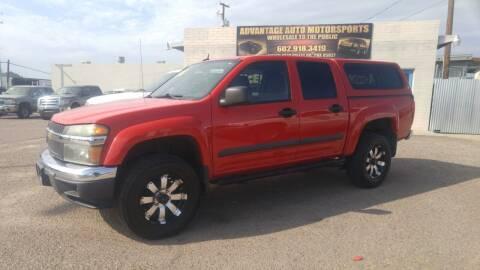2008 Chevrolet Colorado for sale at Advantage Auto Motorsports in Phoenix AZ