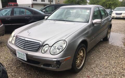 2003 Mercedes-Benz E-Class for sale at GREENLIGHT AUTO SALES in Akron OH