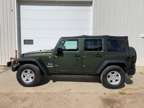2009 Jeep Wrangler Unlimited for sale at RMI in Chancellor SD