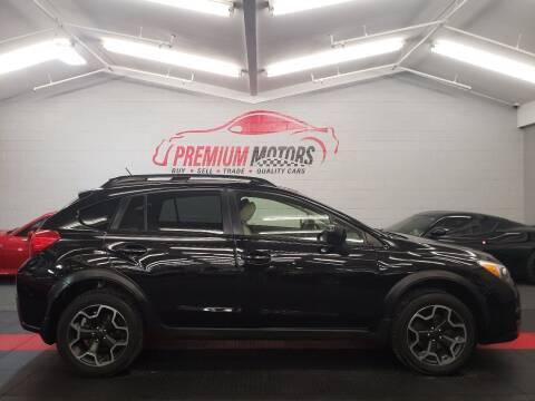 2013 Subaru XV Crosstrek for sale at Premium Motors in Villa Park IL
