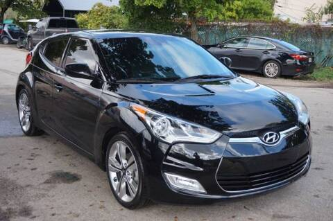 2017 Hyundai Veloster for sale at SUPER DEAL MOTORS in Hollywood FL