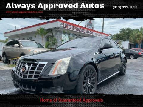 2012 Cadillac CTS for sale at Always Approved Autos in Tampa FL