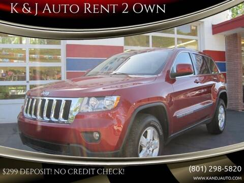 2012 Jeep Grand Cherokee for sale at K & J Auto Rent 2 Own in Bountiful UT