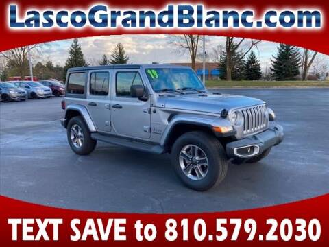 2019 Jeep Wrangler Unlimited for sale at Lasco of Grand Blanc in Grand Blanc MI