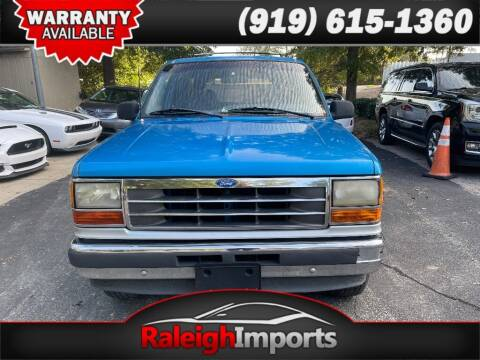 1992 Ford Explorer for sale at Raleigh Imports in Raleigh NC
