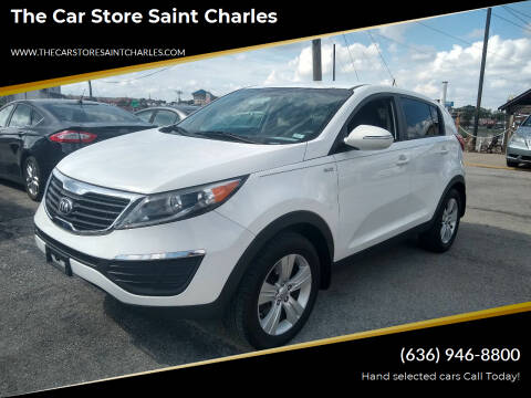 2013 Kia Sportage for sale at The Car Store Saint Charles in Saint Charles MO