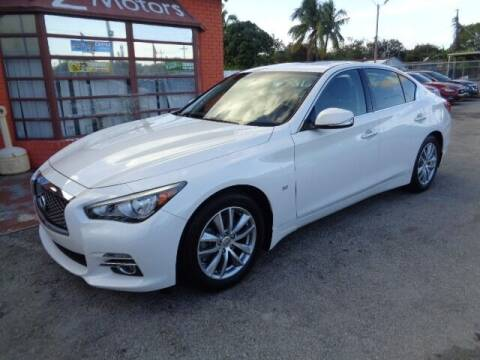 2015 Infiniti Q50 for sale at Z MOTORS INC in Hollywood FL