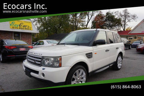 2008 Land Rover Range Rover Sport for sale at Ecocars Inc. in Nashville TN