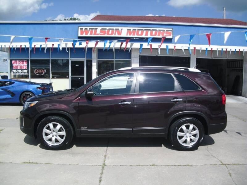 2014 Kia Sorento for sale at Wilson Motors in Junction City KS