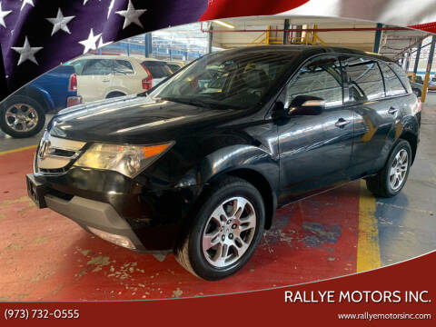 2009 Acura MDX for sale at Rallye  Motors inc. in Newark NJ