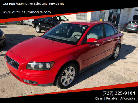 2004 Volvo S40 for sale at Out Run Automotive Sales and Service Inc in Tampa FL