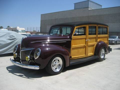 1939 Ford Deluxe Woody Wagon for sale at HIGH-LINE MOTOR SPORTS in Brea CA