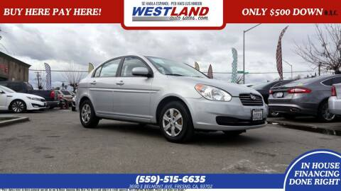 2011 Hyundai Accent for sale at Westland Auto Sales on 7th in Fresno CA