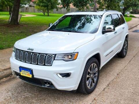 2017 Jeep Grand Cherokee for sale at Amazon Autos in Houston TX