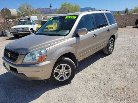 2004 Honda Pilot for sale at Canyon View Auto Sales in Cedar City UT