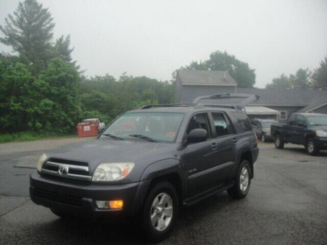 2005 Toyota 4Runner for sale at Manchester Motorsports in Goffstown NH